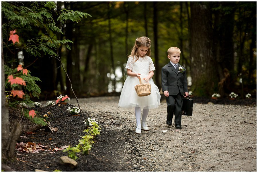 Ring boy and flower girl processional