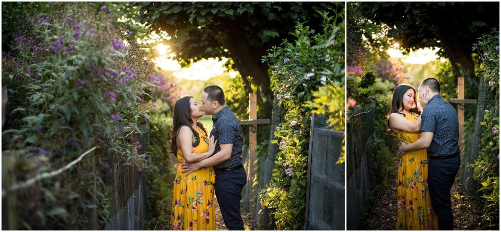 Engagement Photos at The Fens in Boston