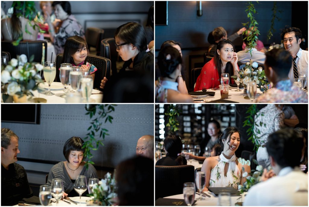 First Birthday Party Details at Mastro's in Boston and guests