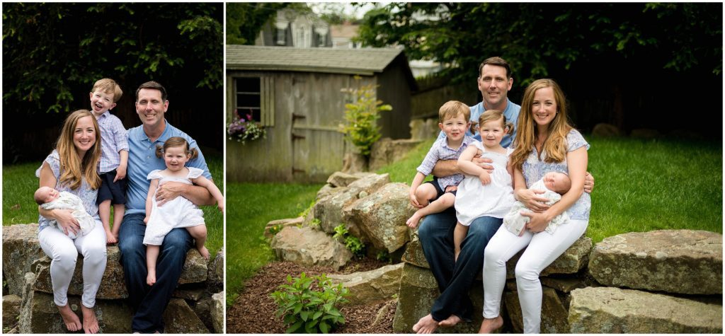 New England Family photos what to wear for spring photo session