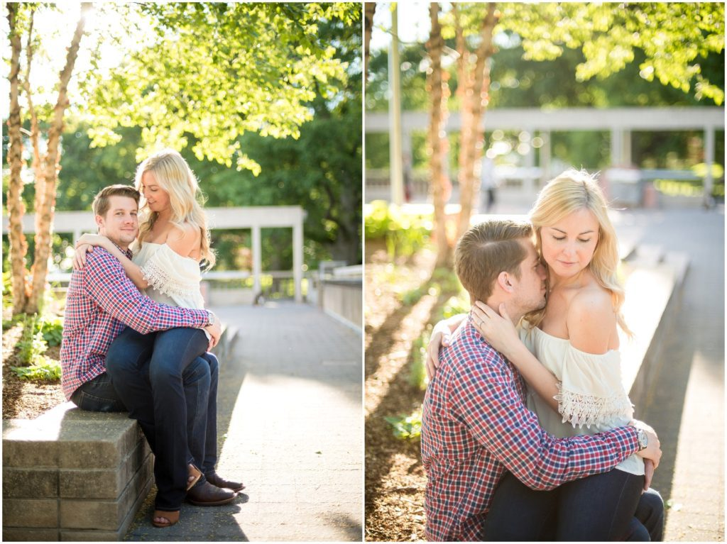 Engagement session in Tufts