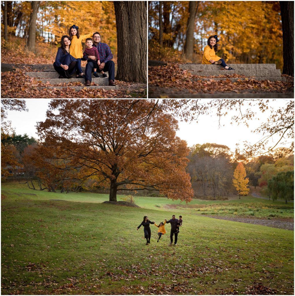 Family at Larz Anderson park brookline photographer