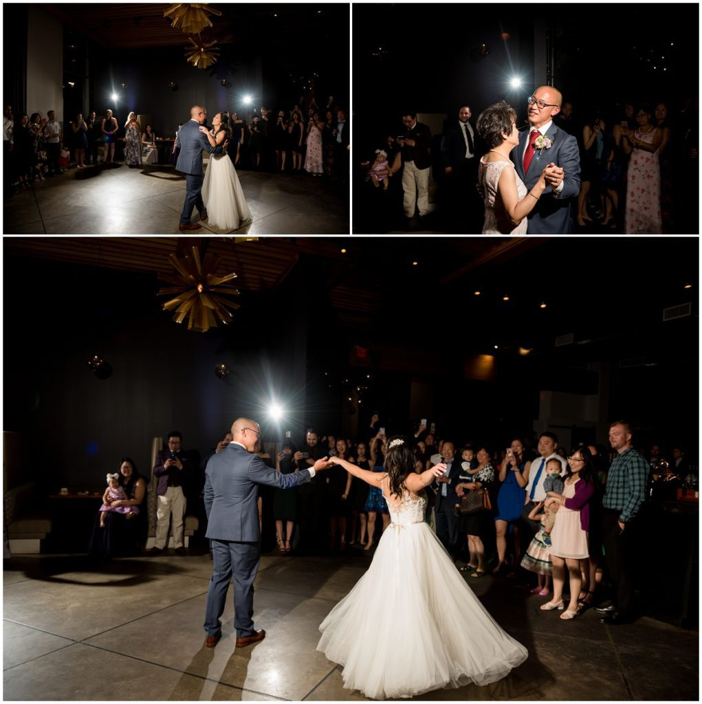 First dance and father daughter mother son dances