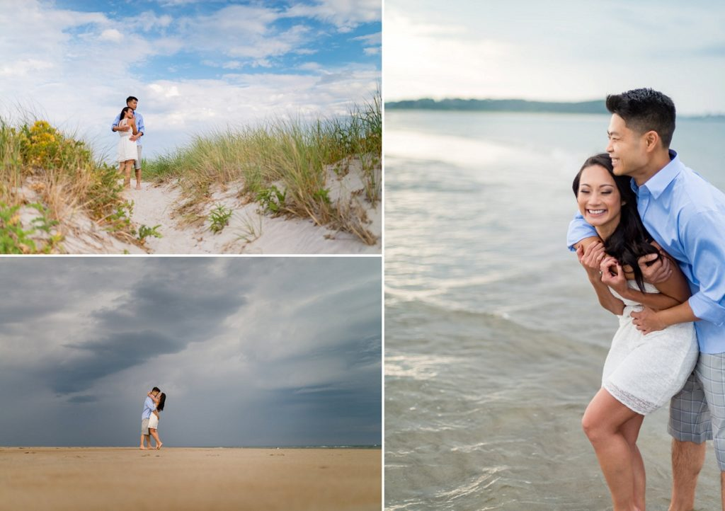 Crane Beach engagement session | suggested Locations for photoshoots