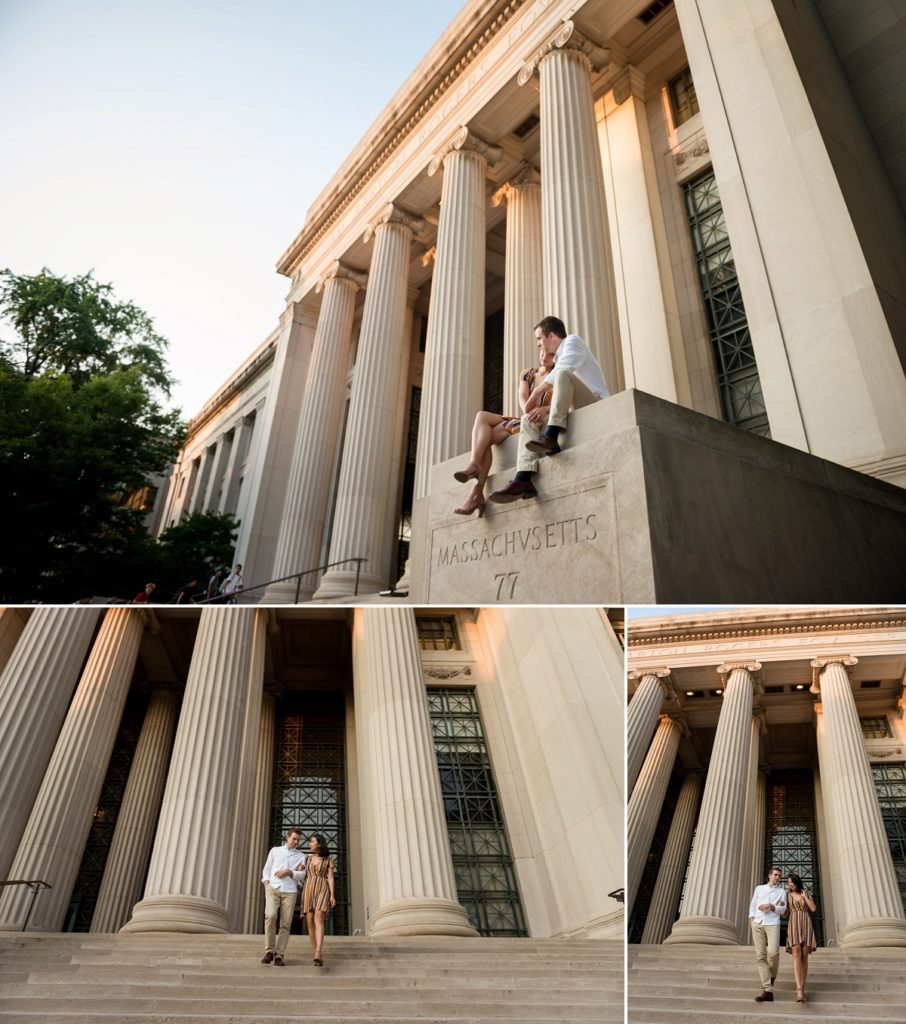 MIT engagement session in Cambridge, MA