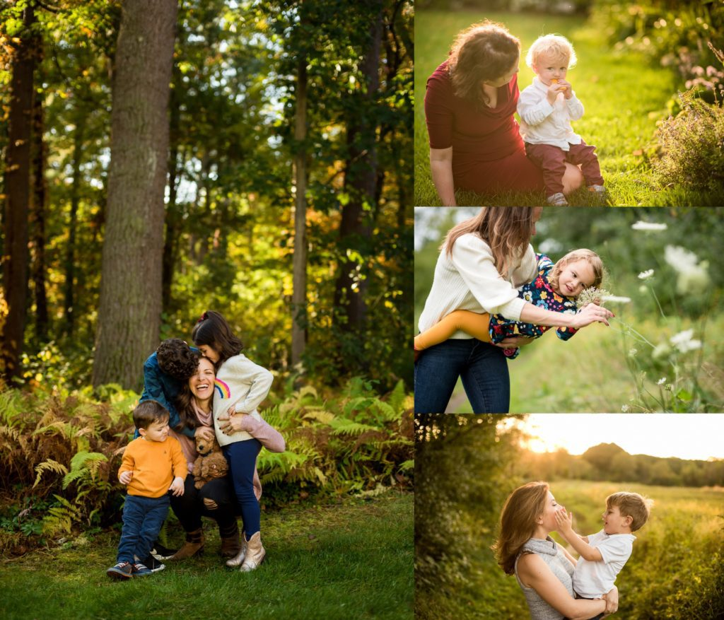 Family sessions at home Boston