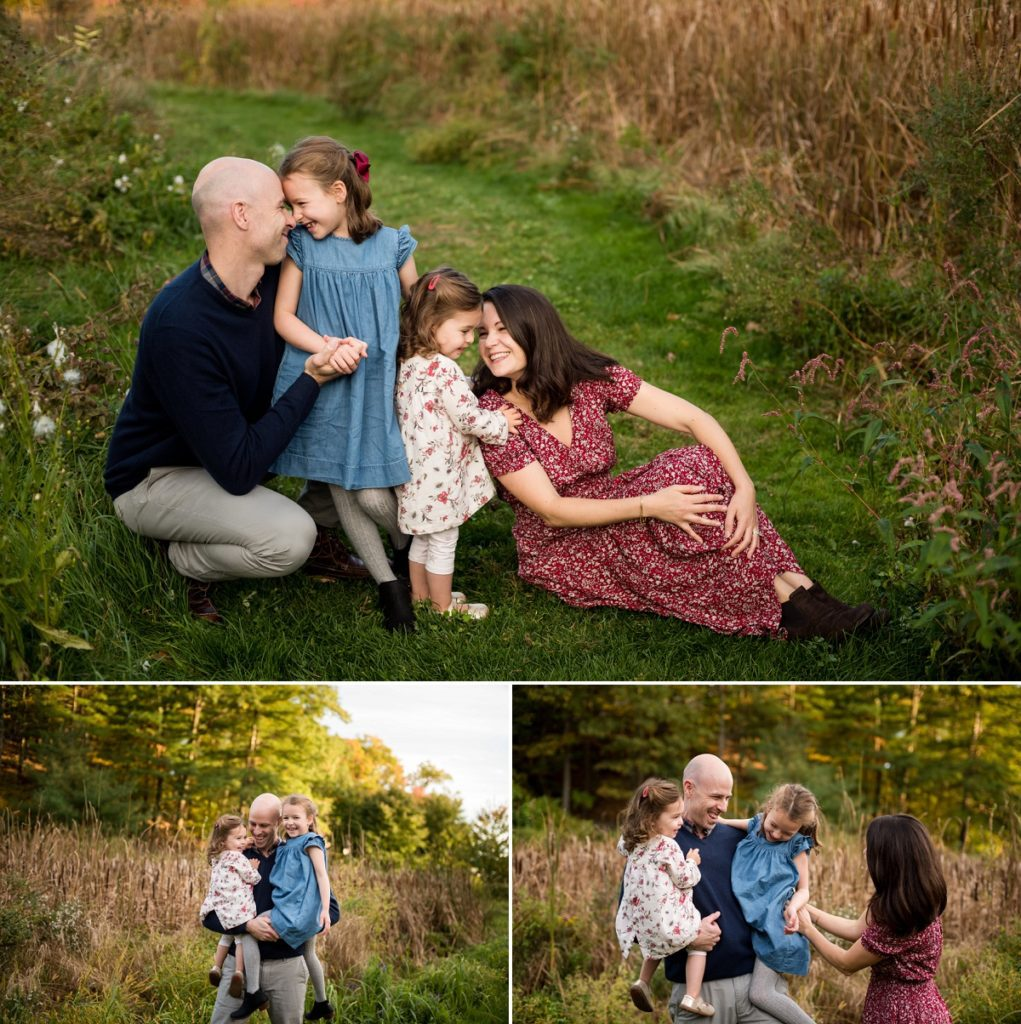 Wellesley College Family session