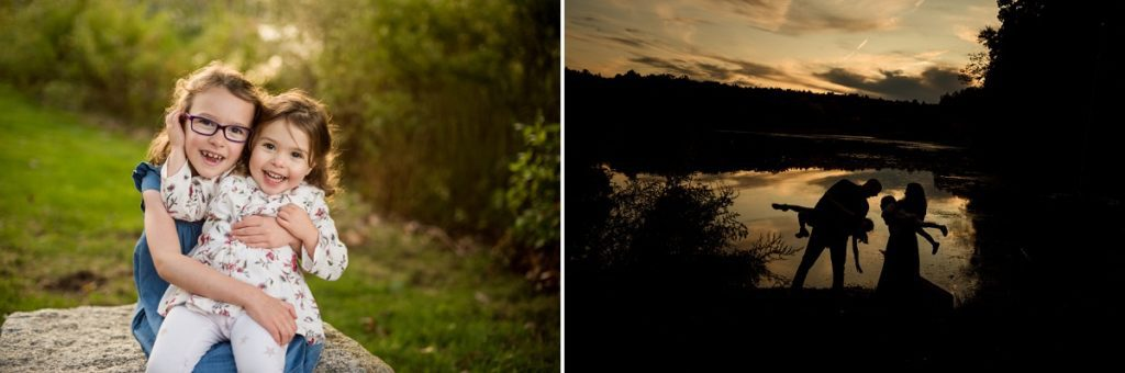 Wellesley College Family session sunset