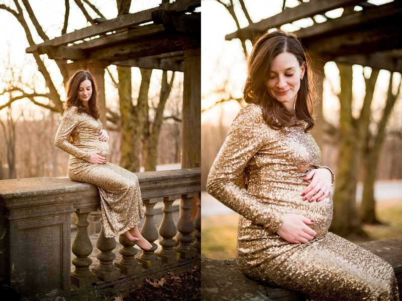 Larz Anderson park Maternity session