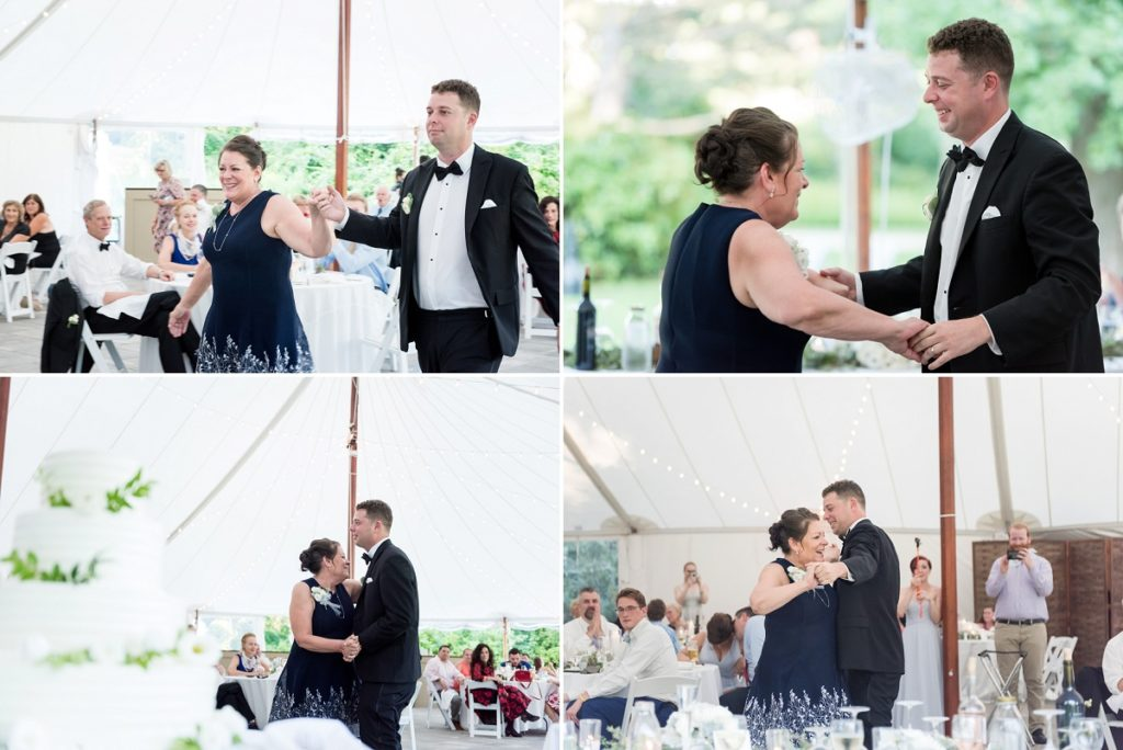 Mother son first dance | The Estate at Moraine Farm